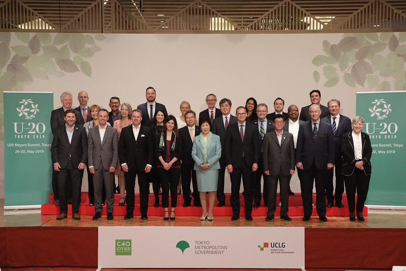 Enhancing the role of cities as global leaders
